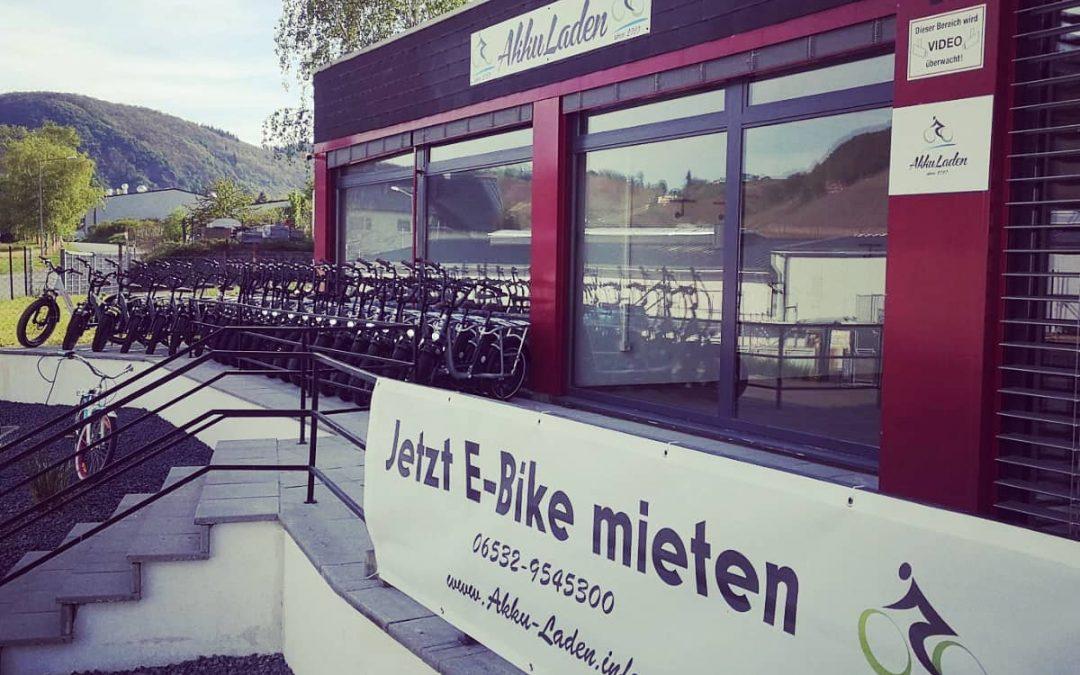 Fahrradverleih Akku Laden Bike UG