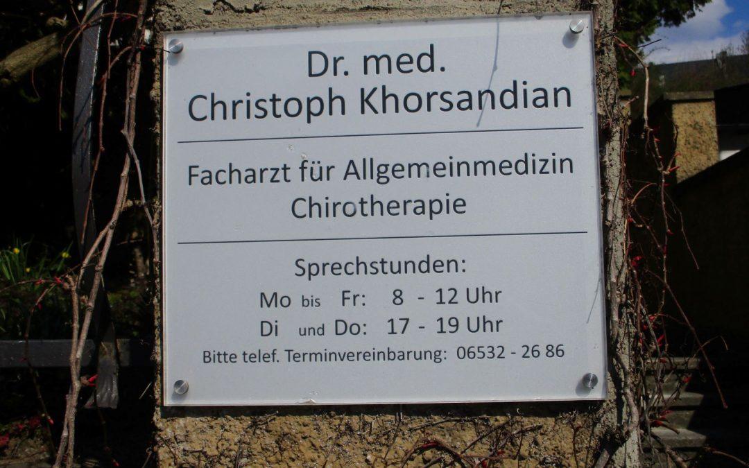 Arztpraxis Dr. Khorsandian